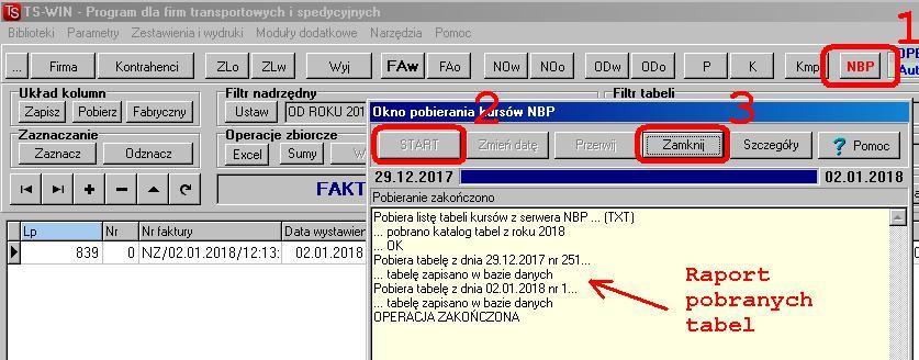 FAQ - pobieranie kursow NBP